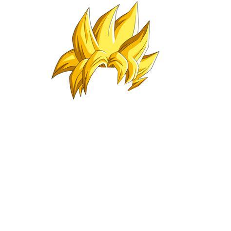2 Goku SSJ Hair
