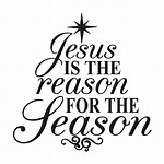 Black and White Jesus Is the Reason for the Season