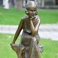 Female Thinker Statue