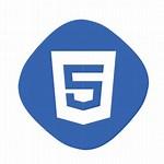 HTML5 Logo Blue