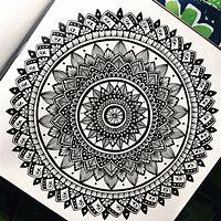 Mandalas Drawing
