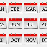 Month Icons