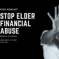 Stop Elder Financial Abuse