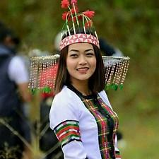 Thihna Dress of Mizoram