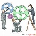 Zusammenarbeit ClipArt