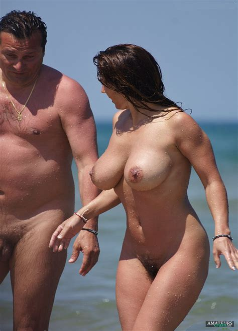 Amazing Milf Nude Beach