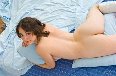 Beautiful Nude Woman On Bed