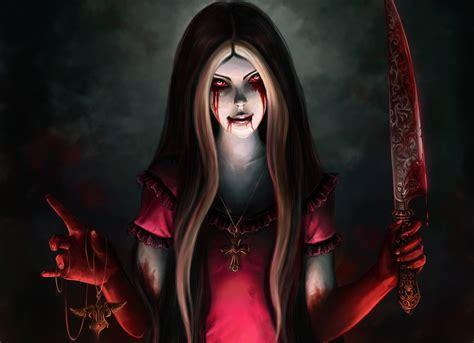 Blood Girl Horror