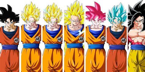 Dragon Ball All Form Goku And Vegeta