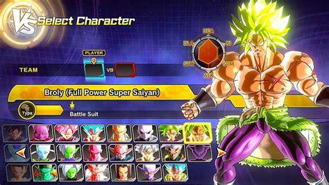 Dragon Ball Xenoverse 2 All Characters