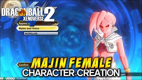Dragon Ball Xenoverse 2 Character Creation
