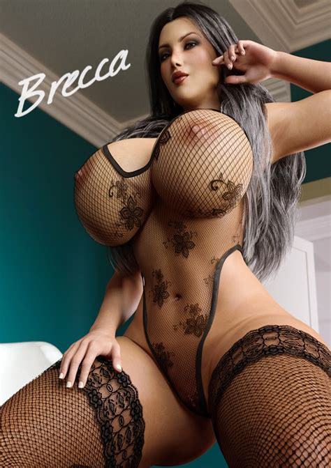 Erotic 3D Art Boobs