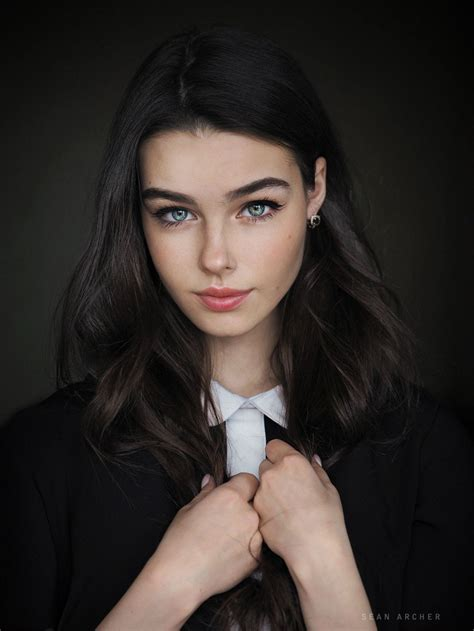 Female Face Claims Black Hair