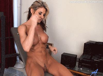 Fit Nude Women GIF Topless