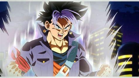 Goku And Trunks Fusion