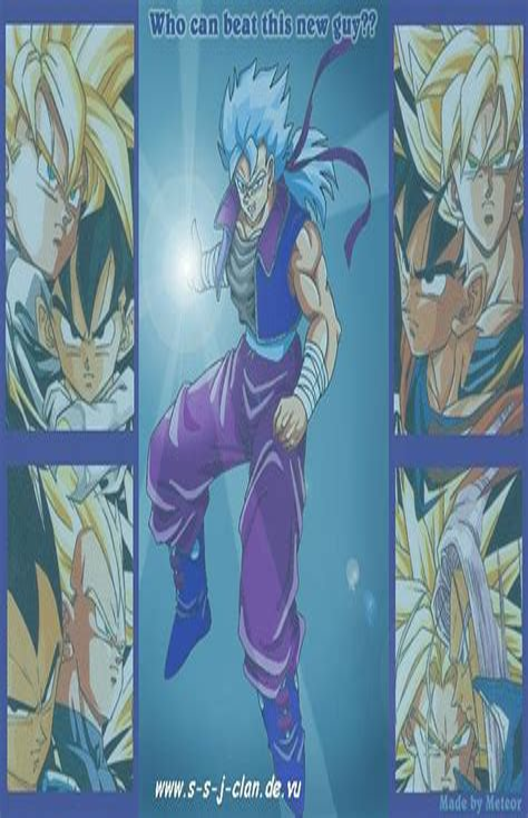Goku Vegeta Gohan Trunks Fusion