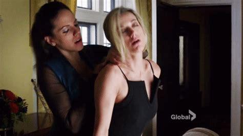Hardcore Lesbian Sex Toy Porn GIF