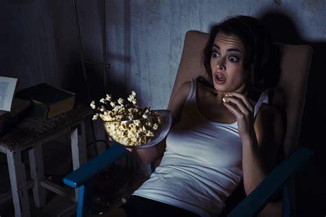 Horror Movie Woman