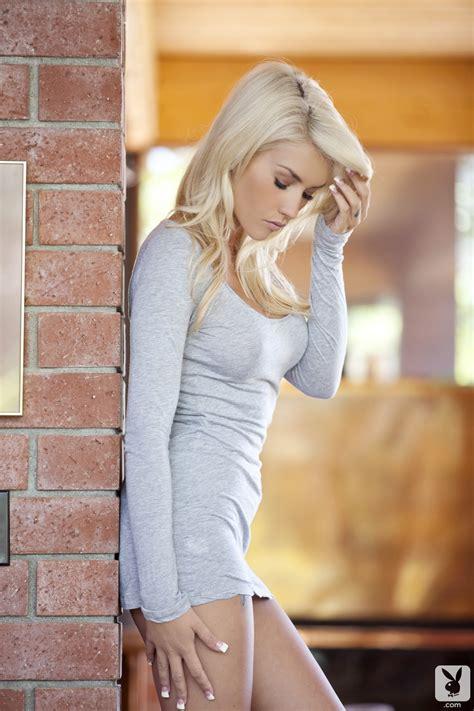 Hot Blonde Playboy Nude Women