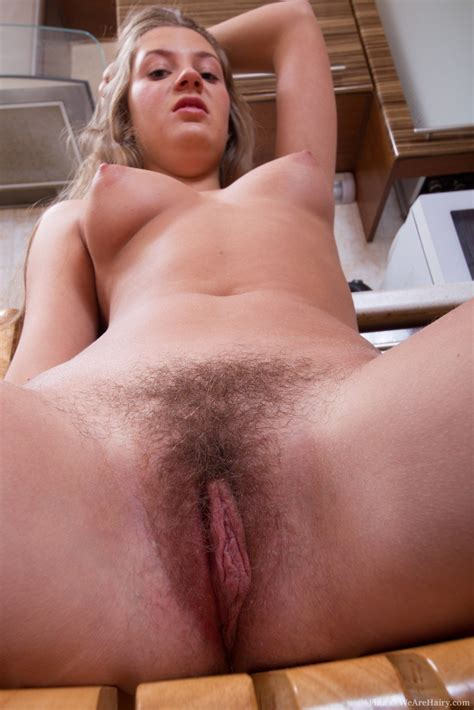 Hottest Hairy Nude