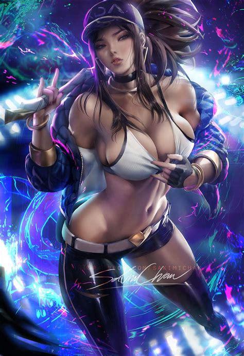 League Of Legends Akali Sakimichan