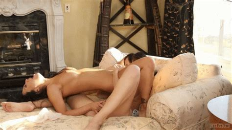 Lesbian Nude Sex Toy GIF