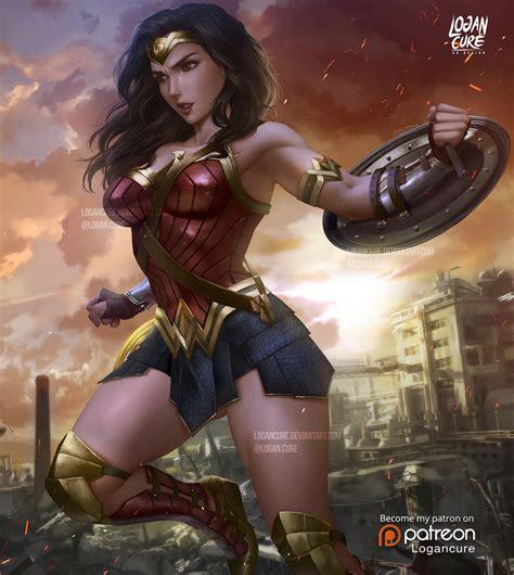 Logan Cure Wonder Woman