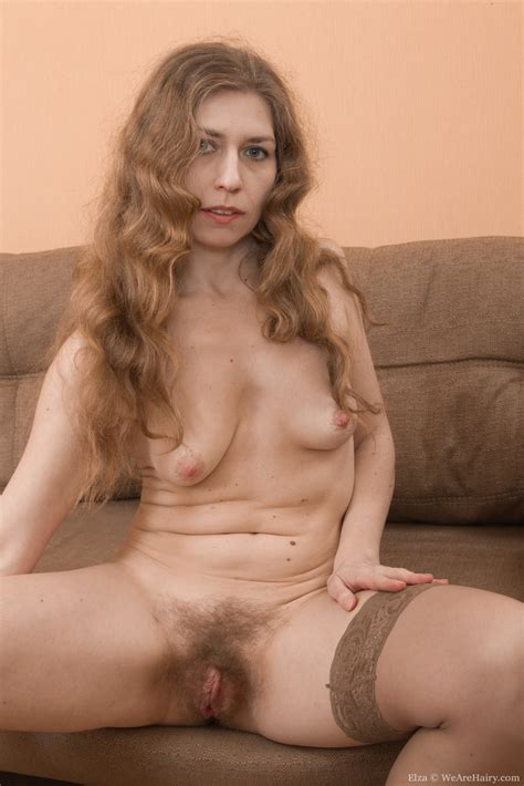 Mature MILF Hairy Nude Women Photos