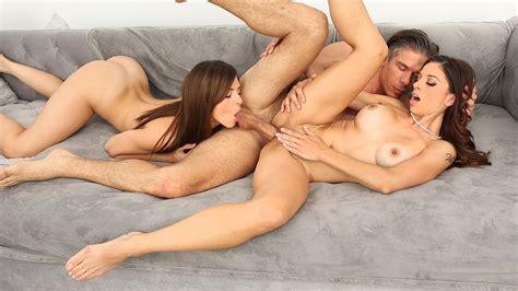 Nude Females Threesome