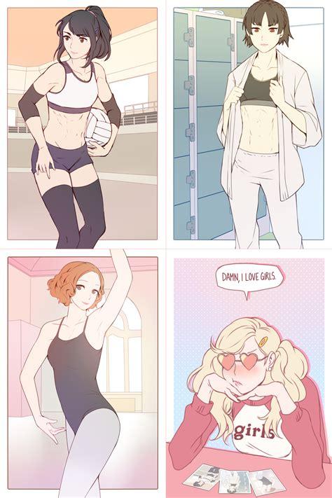 Nude Lesbian Sex Comic