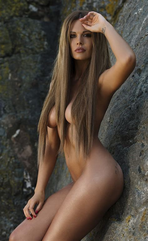 Nude Woman With Long Hair
