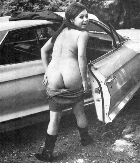 Vintage Nude Woman Ass