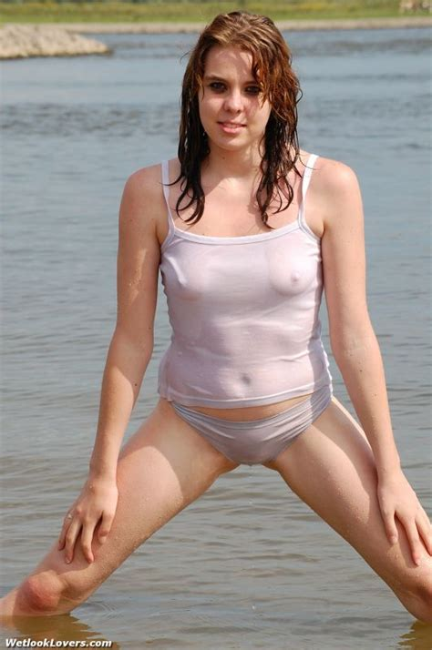 Wet See Through Clothing